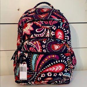 Vera Bradley Lg Essential Backpack Painted Paisley